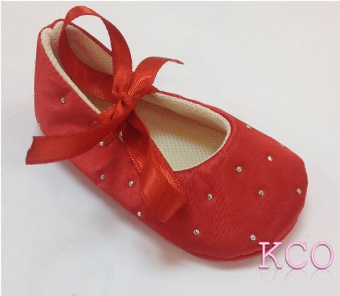 Style FJS017 Red~Girls Shoes